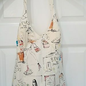 Halter Dress with Sequin designs